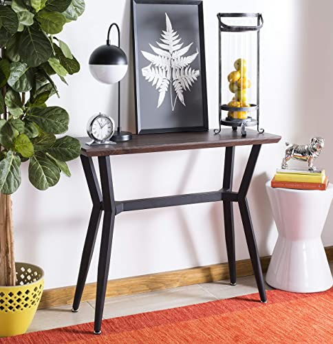Safavieh Home Andrew Brown and Black Console Table