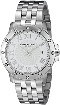 Amazon.com: Raymond Weil Men\'s 5599-ST-00308 Tango Analog Display ...