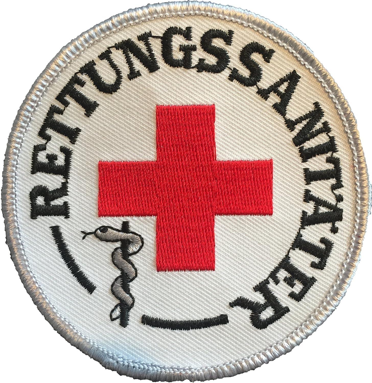 Rettungssanitäter Stoffaufnäher/Patch (8cm Durchmesser ... | {Rettungssanitäter drk 35}