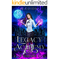 Legacy Academy: Year One: Paranormal Academy Romance book cover