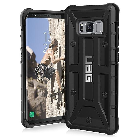 timeless design b70b8 db5e2 UAG Samsung Galaxy S8 [5.8-inch screen] Pathfinder Feather-Light Rugged  [BLACK] Military Drop Tested Phone Case