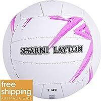 SHARNI Layton Training Netball Size 5 Geo Print