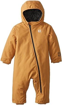 e4603834a Carhartt Baby Boys' Quick Duck Snowsuit, Carhartt Brown, 24 Months