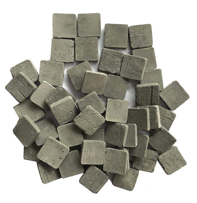Lehung Scale 1//35 Miniature Bricks Square Tiles Mini Bricks Building Landscape Accessories 250pcs Gray