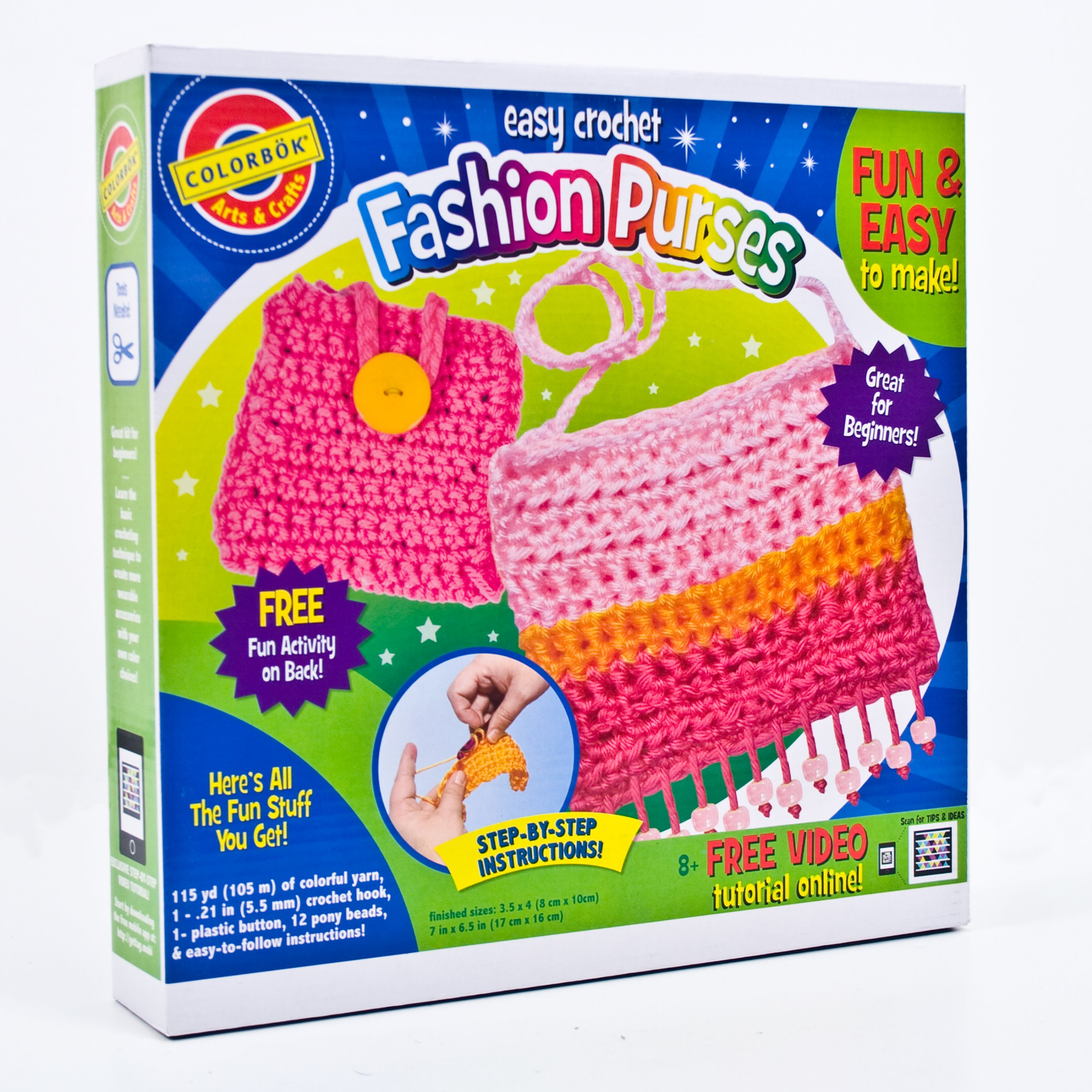 Colorbok Easy Crochet Fashion Purses by Colorbok (Image #1)
