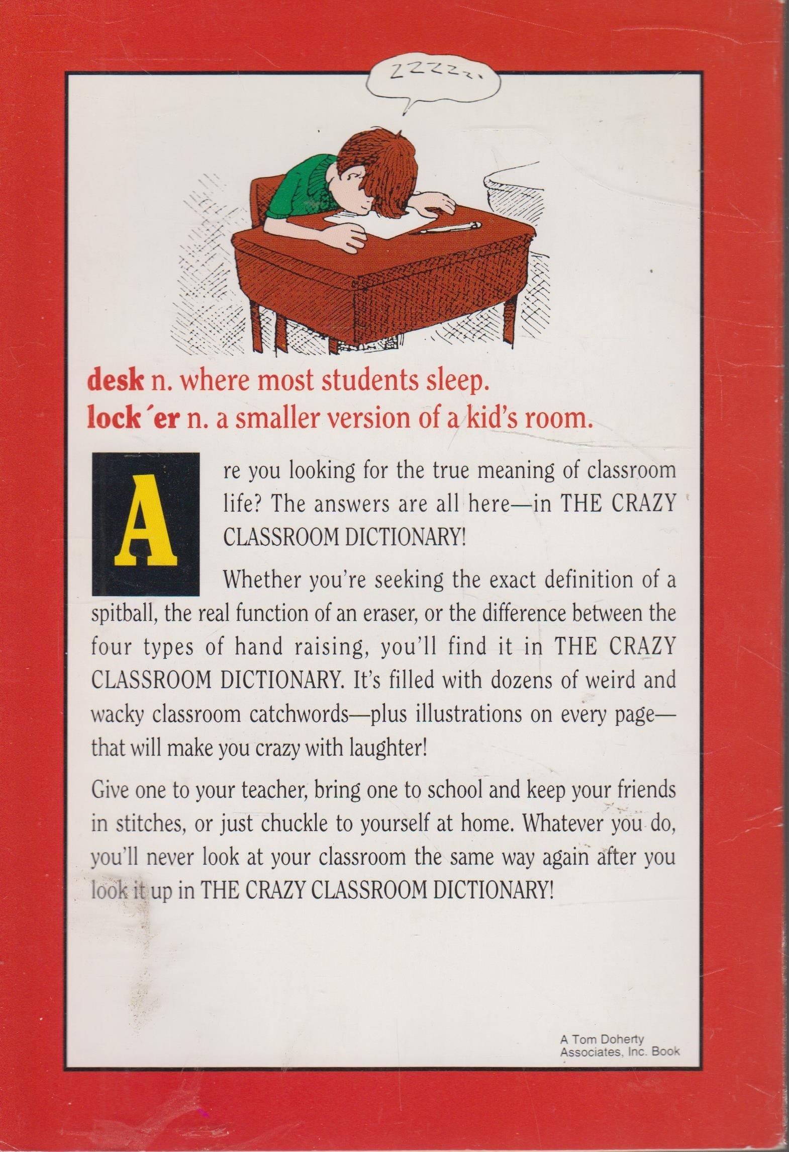 The crazy classroom dictionary amazon books solutioingenieria Images