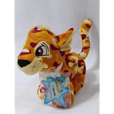 "Neopets Key Quest Virtual Prize 5"" Plush Series 5 - Camoflauge Kougra: Toys & Games"