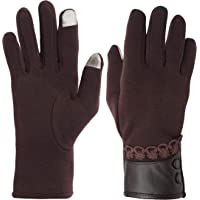 FabSeasons Woolen Winter gloves with Touchscreen fingers for girls and women