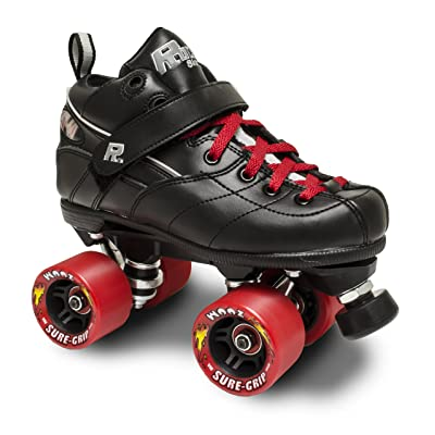 Sure-Grip Rock GT50 Roller Skates W/RED Zoom and RED LACE Size 13 : Sports & Outdoors