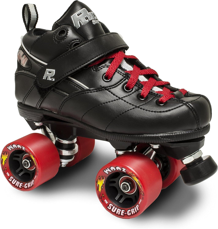 Rock gt50ズームRoller Skates w/レッドズームとレッドレース  Mens 12 / Womens 13