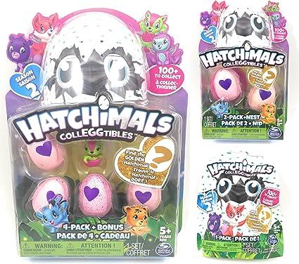 Bonus SEASON 2 w// GOLDEN HATCHIMAL CHANCE HATCHIMALS Colleggtibles egg 4 Pack