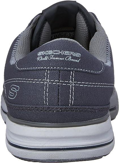 Skechers Arcade masculine Chat Memory Sneaker, charbon de