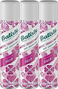Batiste Dry Shampoo, Blush Fragrance, 3 Count