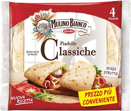19 opinioni per Mulino Bianco Piadella Classica Gr.300