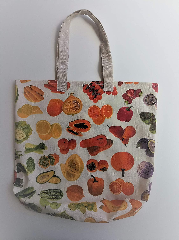 Bolsa de tela fruta y verdura