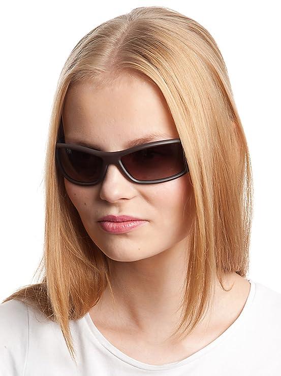 Amazon.com: Benetton Sunglasses BE 550 04 Acetate Brown ...