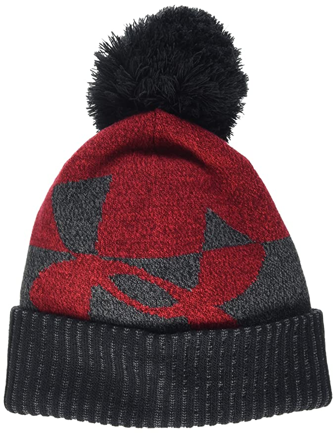 Under Armour Pom Upd Bonnet Enfant Anthracite Taille Unique 1300090 ... bdefe40414b