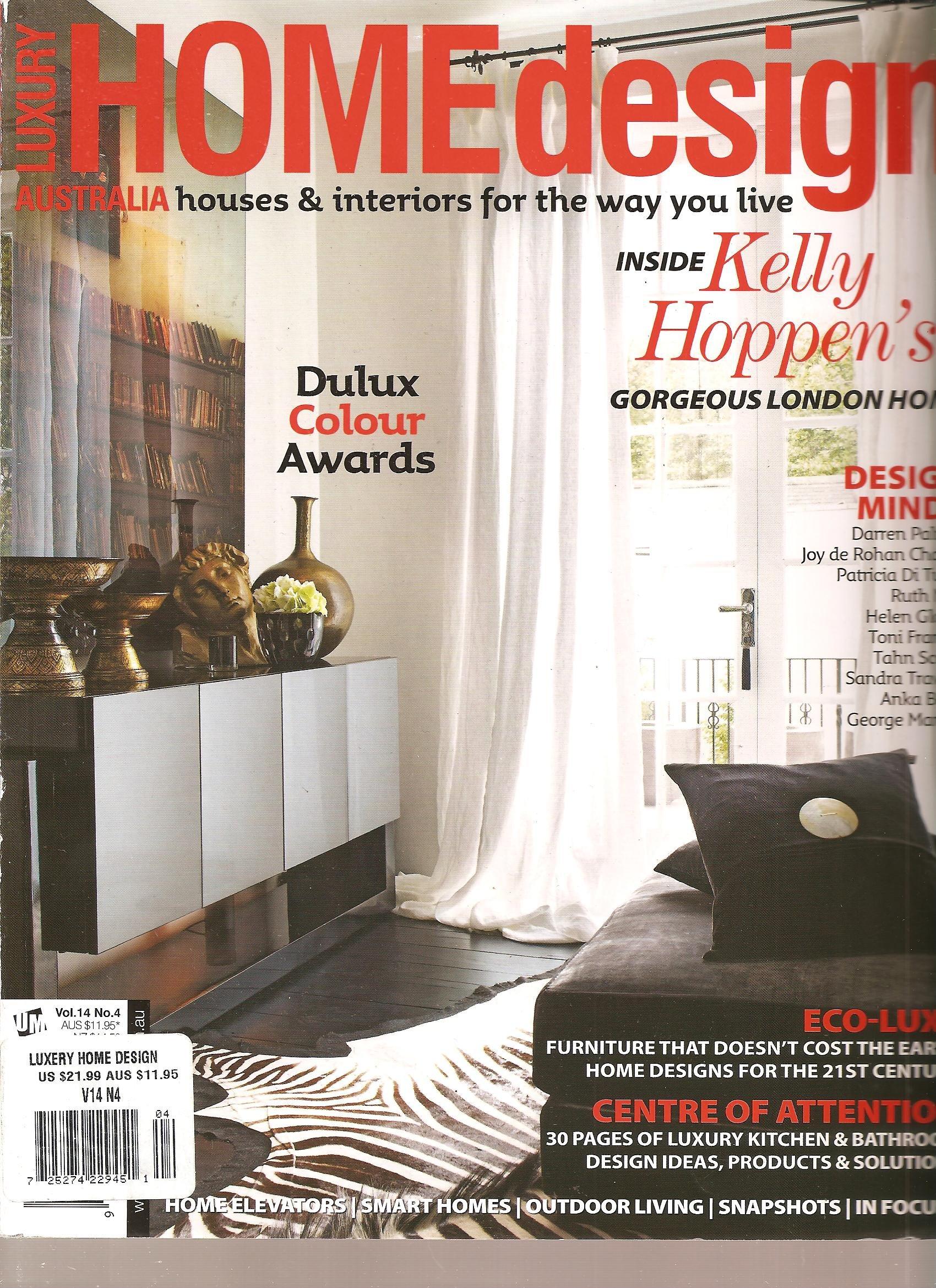 Luxury Home Design Magazine Australia Volume 32 Number 32 Amazon ...