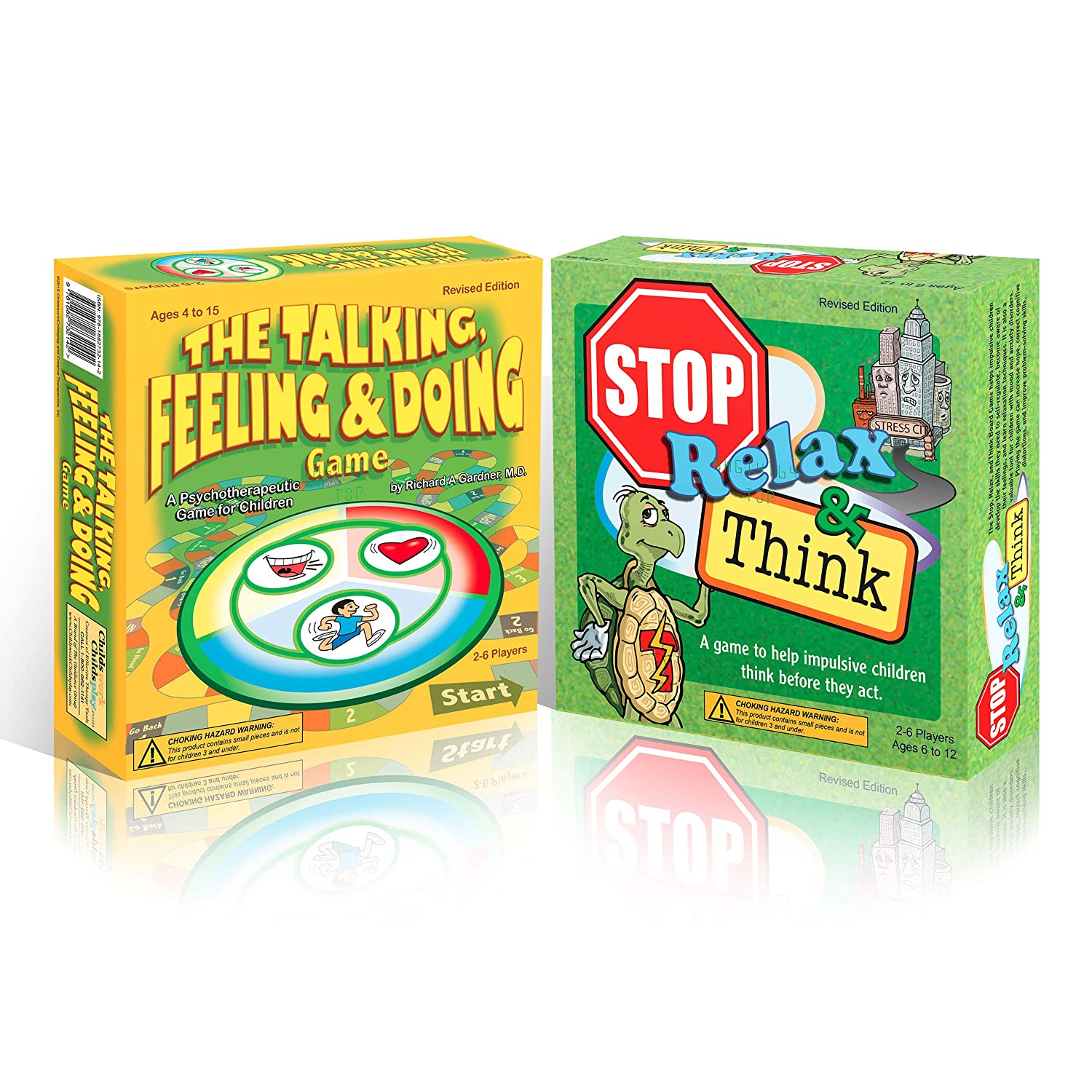 The Talking, Feeling, Doing & Stop, Relax, Think Game Bundle ...