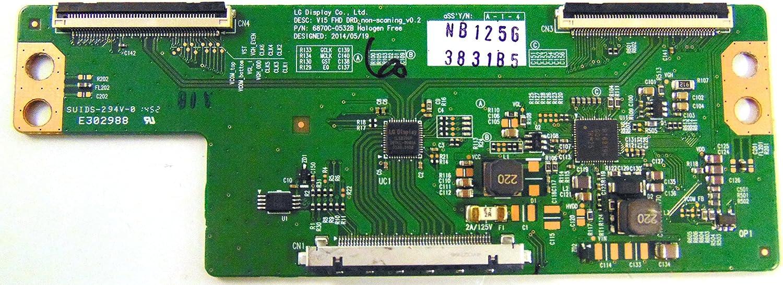 LG 6871l-3831b T-con Junta para 55lf6300-ua: Amazon.es: Electrónica