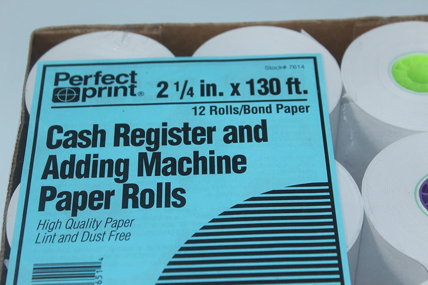 Pack Of EE440629 Office Depot 1 Ply 2 1 4 Inch X 130Ft White Paper Rolls