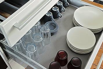 Antirutschmatte Schubladeneinlage geriffelt Küche Breite: 90cm ...