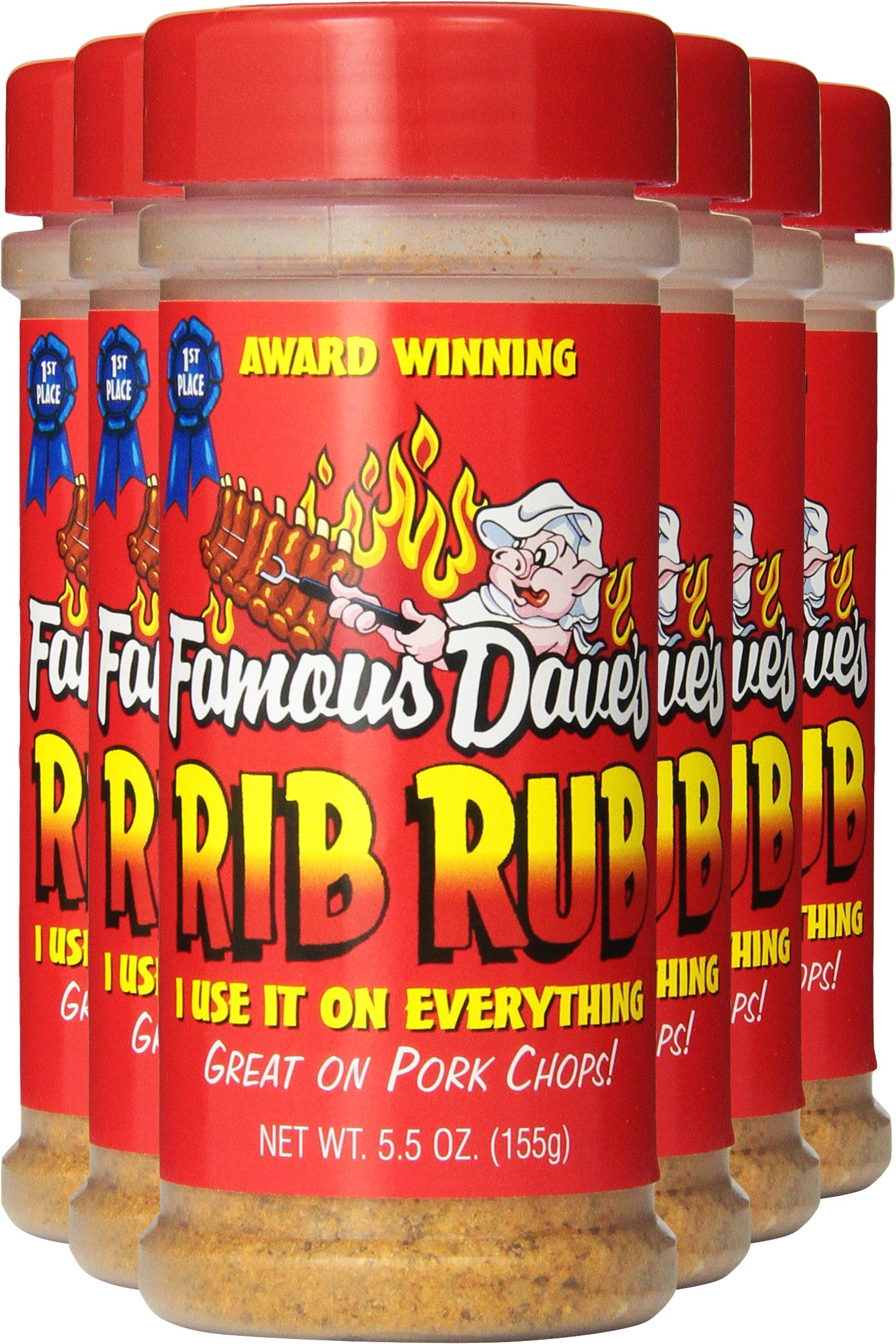 Famous Dave's Seasoning Rib Rub, 5.5-Ounce (Pack of 6) by Famous Dave's (Image #5)