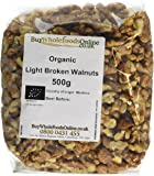 Buy Whole Foods Organic Walnuts Light Broken 500 g
