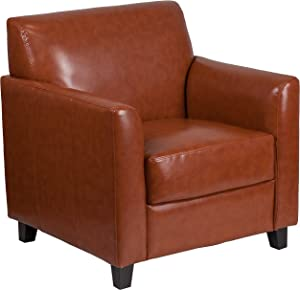 Flash Furniture Cognac Leather Chair