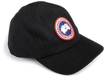 canada goose black baseball cap