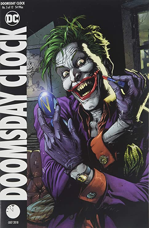 Amazon Com Doomsday Clock 5 Of 12 Cover B Variant Edition