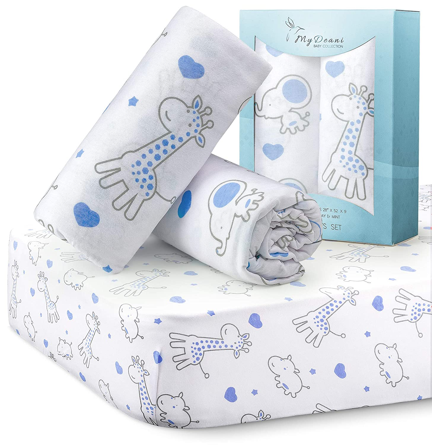 Super Cool MYDEANI Baby Crib and Mattresses Sheet