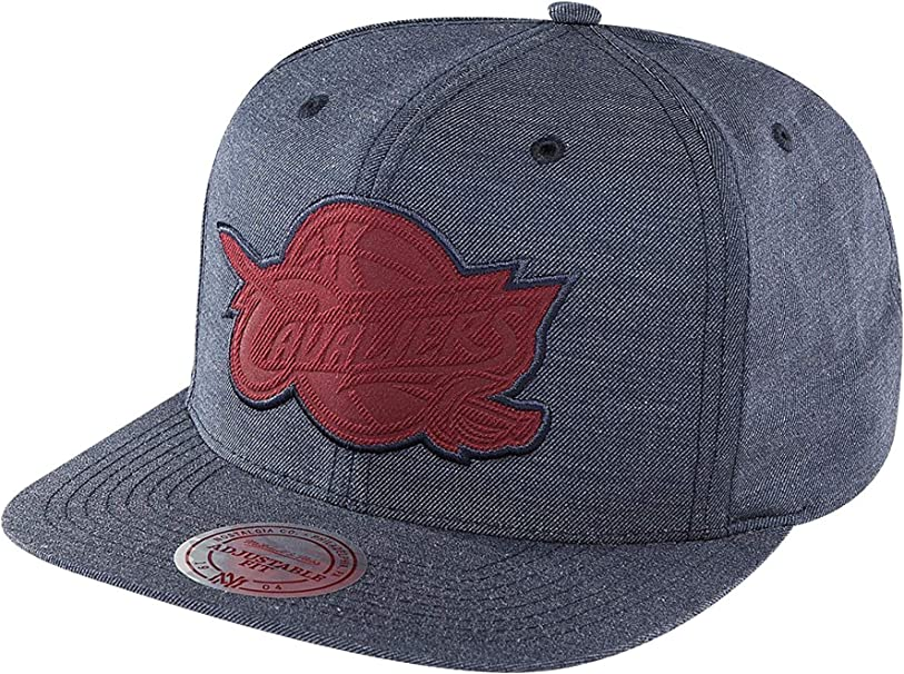 Mitchell & Ness Mujeres Gorras / Gorra Snapback Cut Heather ...