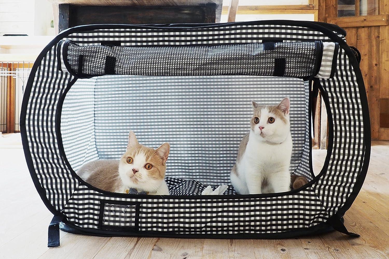 Amazon.com : Necoichi Portable Stress Free Cat Cage : Pet Supplies