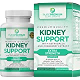 Premium Kidney Support Supplement by PurePremium (Kidney Cleanse Supplement) Potent Herbal Ingredients for Urinary Tract…