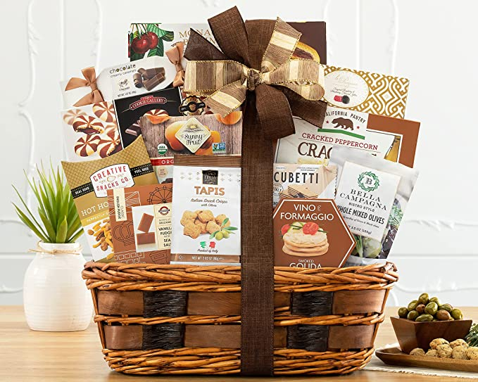 The Bon Appetit Gourmet Food Gift Basket