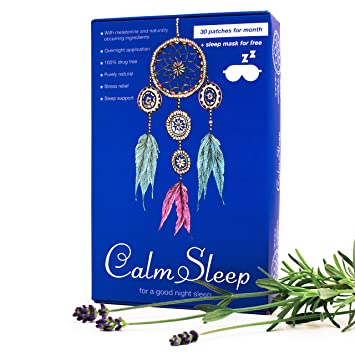 Natural Sleep Aid – Sleep Patch – Melatonin Sleep Aids for Adults - 30-Pack