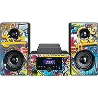 Lenco MC-020, Compacte Stereo Installatie Met Bluetooth, USB En Fm-Radio (Wekfunctie, USB-Oplader, Aux…