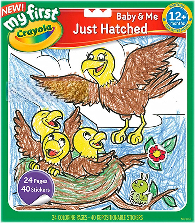 Crayola Colouring Book Bird BRAND NEW