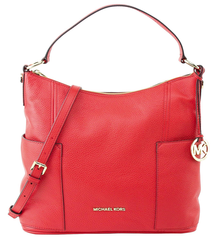 00b5aeda43f4 Michael Kors Anita Large Convertible Shoulder Bag (DK Sangria)   Amazon.co.uk  Shoes   Bags