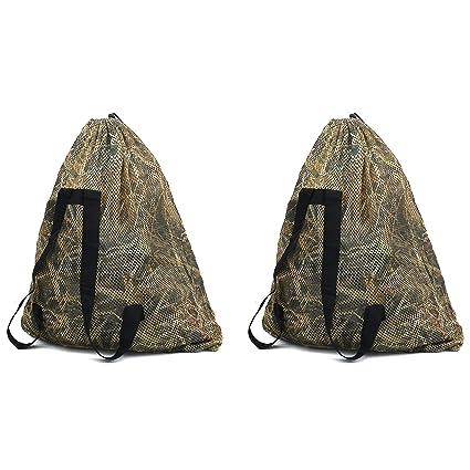 Security & Protection The Best Duck Decoys Bag Mesh Backpack Decoy Bag Goose Turkey Carry Large Decoy Storage Net Bag With Shoulder Straps For Hunting