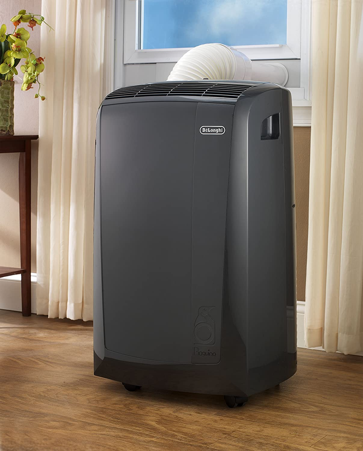 Delonghi portable air conditioner and heater - Amazon Com Delonghi Pacn110ec 11 000 Btu 3 In 1 Portable Air Conditioner Home Kitchen