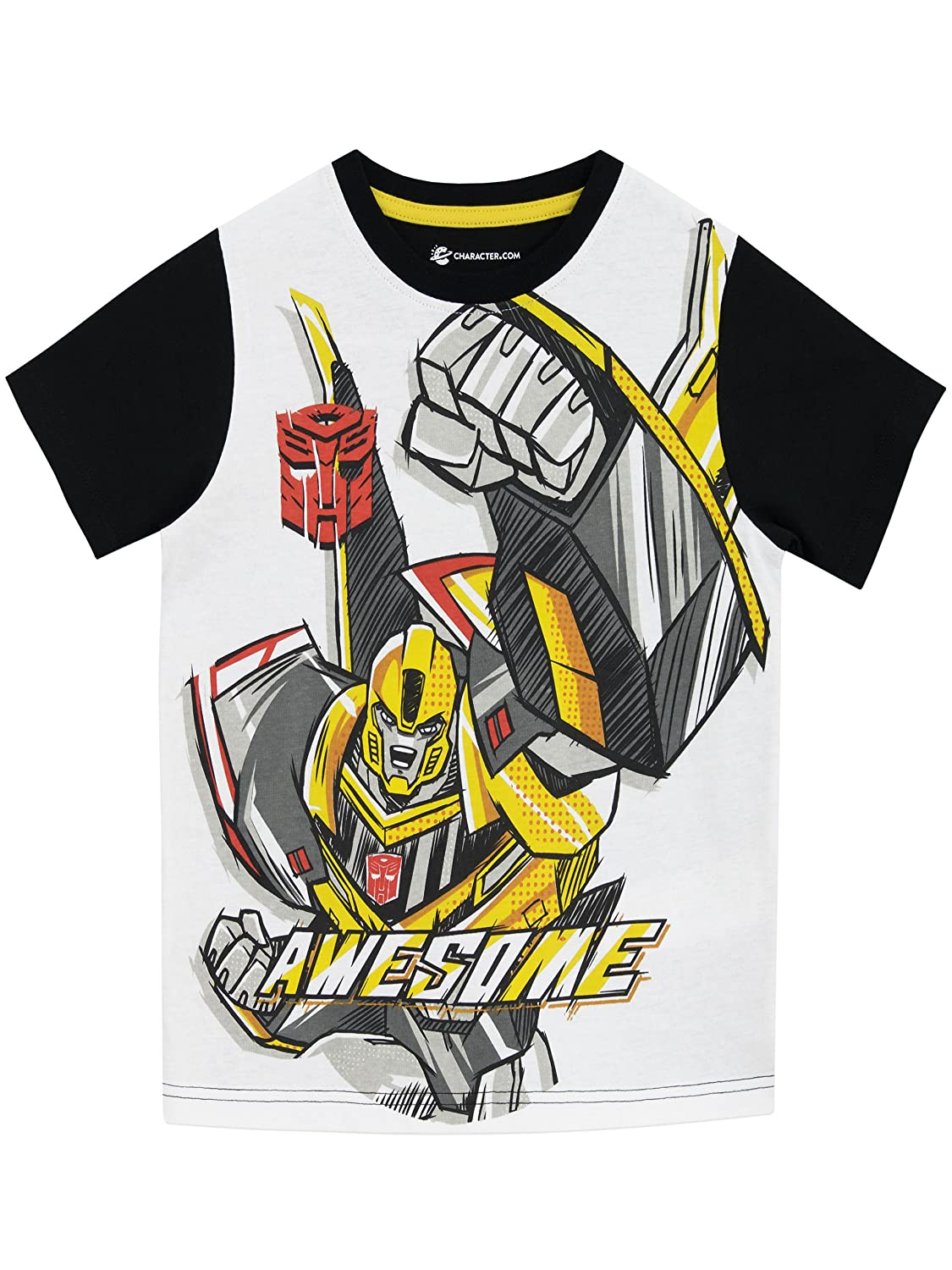 Transformers Boys T-Shirt Ages 3 to 10 Years