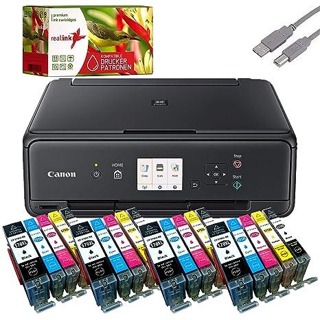 Canon PIXMA ts5050 Impresora multifuncional negro (Impresora ...