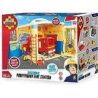 05958Sam Il Pompiere Sam elettronico Pontypandy Stazione dei Pompieri Giocattolo