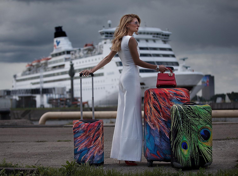 Garde votre valise de voyage propre et la prot/ège Housse de valise bagage VELOSOCK UK FLAG Compatible avec TOUS LES BAGAGES MOYENS de hauteur comprise entre 60 et 72 cm