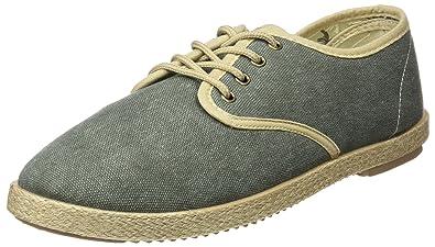 Yute Washed Cordones, Chaussures Homme - Vert - Vert (Vert), 41 EUSpringfield