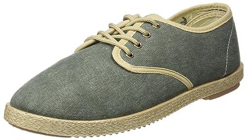 Springfield Yute Washed Cordones, Zapatillas para Hombre, Verde (Green), 40 EU: Amazon.es: Zapatos y complementos