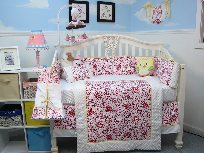 SoHo Princess Catherine Toile Baby Crib Nursery Bedding Set 14 pcs by SoHo Designs   B00MS2NIBQ