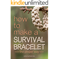 How to make a paracord survival bracelet: The proper way